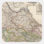 Graecia, Epirus, bella Persia del poste Pegatina Cuadrada