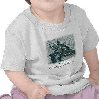 Graelle el mágico ella arte de la fantasía del dra camisetas