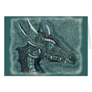 Graelle the Magical She Dragon Fantasy Art Card