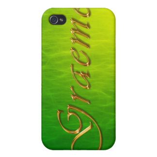 GRAEME Name Branded iPhone Cover