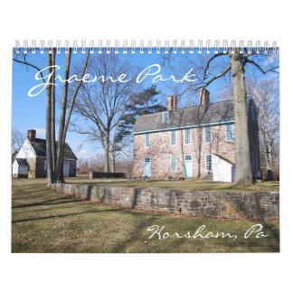 Graeme Park 2010 Calendar