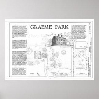 Graeme Park HABS Drawing Poster