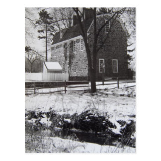 Graeme Park in the Snow - 1989 Postcard