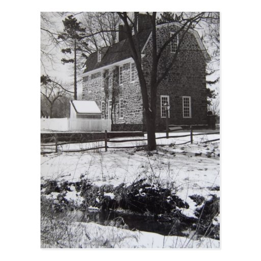 Graeme Park in the Snow - 1989 Post Cards