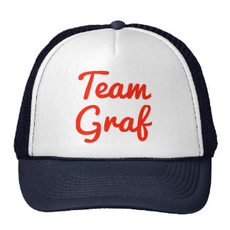 Graf del equipo gorra