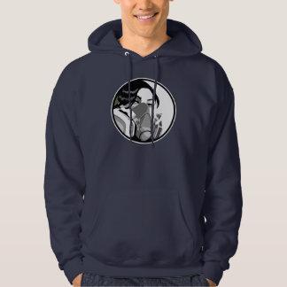 graf mask hoodie