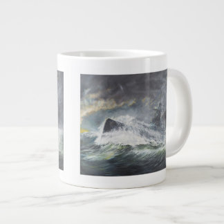 Graf Spee enters the Indian Ocean 3rd November Large Coffee Mug
