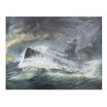 Graf Spee enters the Indian Ocean 3rd November Postcard