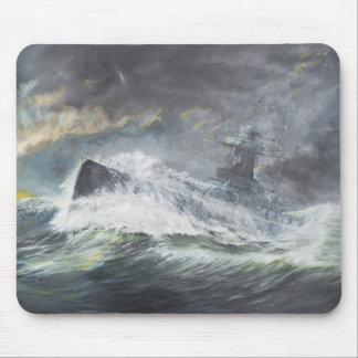 Graf Spee entra en el Océano Índico el 3 de Tapetes De Ratón