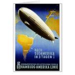 Graf Zeppelin Vintage German Travel Greeting Cards