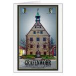 Grafenwöhr - Rathaus Greeting Card