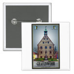 Grafenwöhr - Rathaus Pinback Button