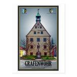 Grafenwöhr - Rathaus Post Card