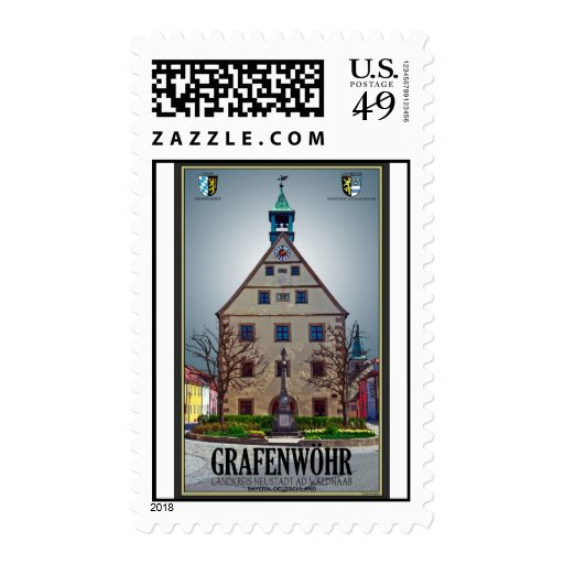 Grafenwöhr - Rathaus Stamp