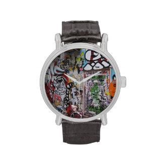 Graff colorido reloj de mano