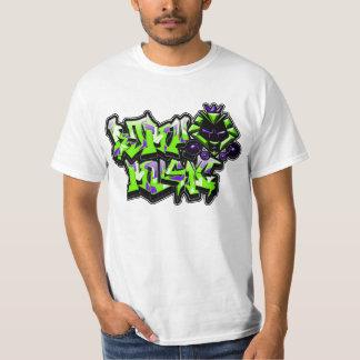 Graff Kat (Slimer y fantasmas púrpuras) Remera