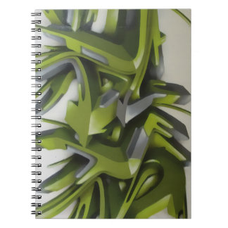 Graff verde libro de apuntes
