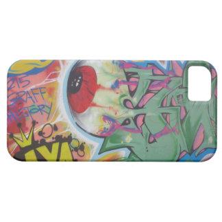 Graffed encima del teléfono iPhone 5 carcasas