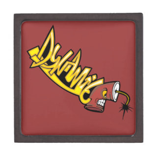 graffiti001 GRAFFITI DYNAMITE ATTITUDE CHARACTER C Premium Jewelry Boxes