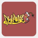 graffiti001 GRAFFITI DYNAMITE ATTITUDE CHARACTER C Sticker