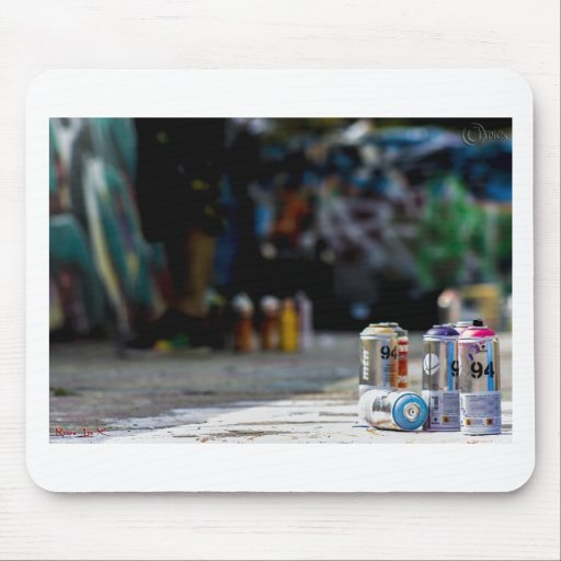 Graffiti 001 mouse pad
