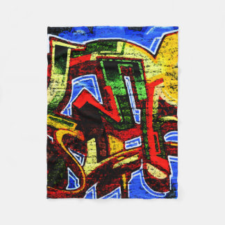 Graffiti 17 Fleece Blanket