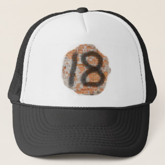 Graffiti 18th Birthday Gifts Trucker Hat