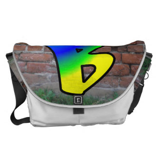 GRAFFITI #1 B MESSENGER BAG