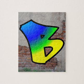 GRAFFITI #1 B JIGSAW PUZZLES