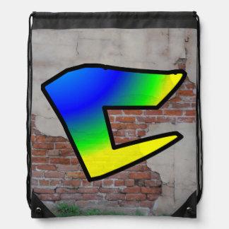 GRAFFITI #1 C DRAWSTRING BAG