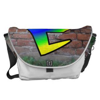GRAFFITI #1 C COURIER BAGS