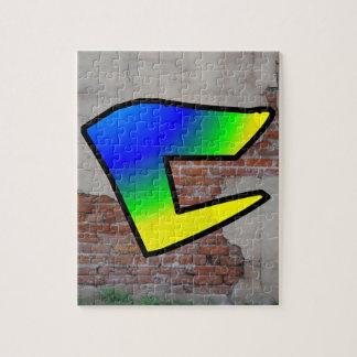 GRAFFITI #1 C JIGSAW PUZZLE
