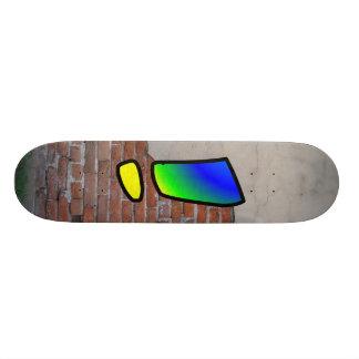 GRAFFITI #1 EXCLAMATION CUSTOM SKATE BOARD