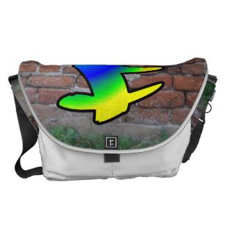 GRAFFITI #1 F MESSENGER BAGS