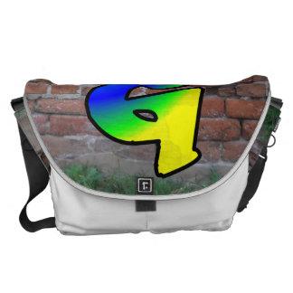GRAFFITI #1 G MESSENGER BAGS