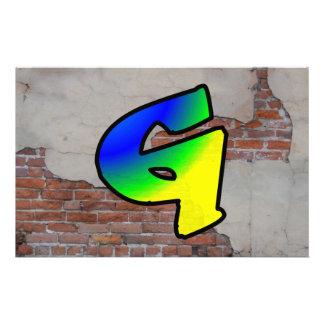 GRAFFITI #1 G CUSTOM STATIONERY