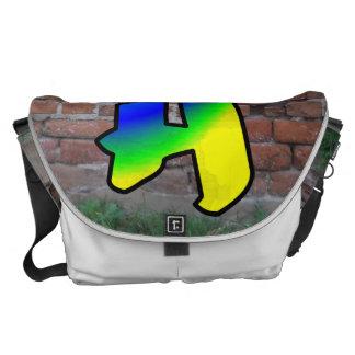 GRAFFITI #1 H MESSENGER BAG
