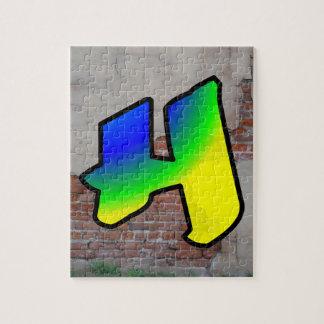 GRAFFITI #1 H PUZZLE