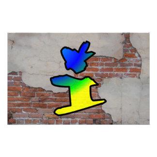 GRAFFITI #1 I PERSONALIZED STATIONERY