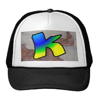 GRAFFITI #1 K TRUCKER HAT