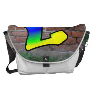 GRAFFITI #1 L COURIER BAG