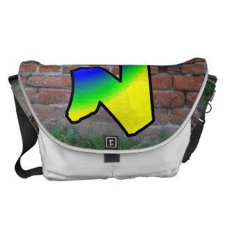 GRAFFITI #1 N MESSENGER BAG