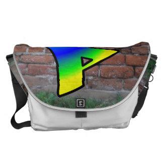 GRAFFITI #1 P COURIER BAG
