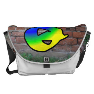 GRAFFITI #1 Q MESSENGER BAG