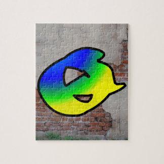 GRAFFITI #1 Q JIGSAW PUZZLES