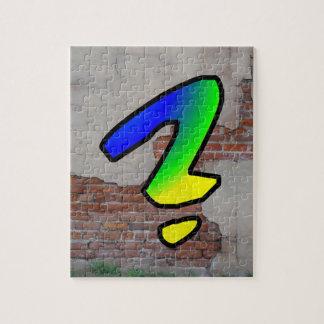 GRAFFITI #1 QUESTION MARK PUZZLES