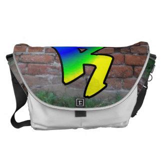 GRAFFITI #1 R COURIER BAGS