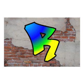 GRAFFITI #1 R CUSTOM STATIONERY