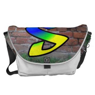 GRAFFITI #1 S COURIER BAG