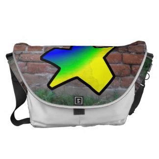 GRAFFITI #1 STAR COURIER BAG